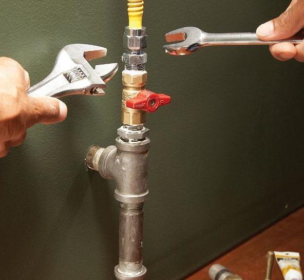 Repairing Gas Lines